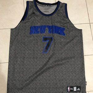 Adidas Carmelo Anthony Knicks Jersey